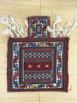 Handmade Soumak Salt Bag